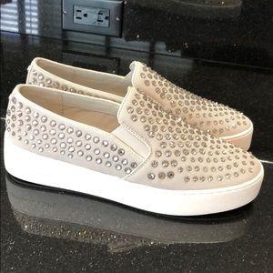 Michael Kors Rhinestone Slip On Sneakers